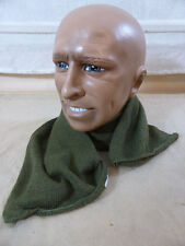 US ARMY WW2 Winter Willys Jeep Schal oliv / wool scarf neckwear OG 208