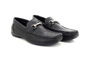 Casual Mocassins C003 Slip Noir Sur Brixton Smart Driver Chaussures Hommes w4gqO8px8