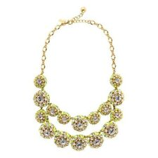 Kate Spade Hip Stitch Necklace NWT Brilliant w/ Modern Iconoclast Stitch Accents