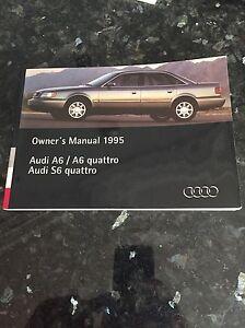 1991 1997 audi a6 s6 100 quattro owners manual guide ebay rh ebay com 1997 Audi A6 Quattro 1997 Audi A6 Quattro Specs