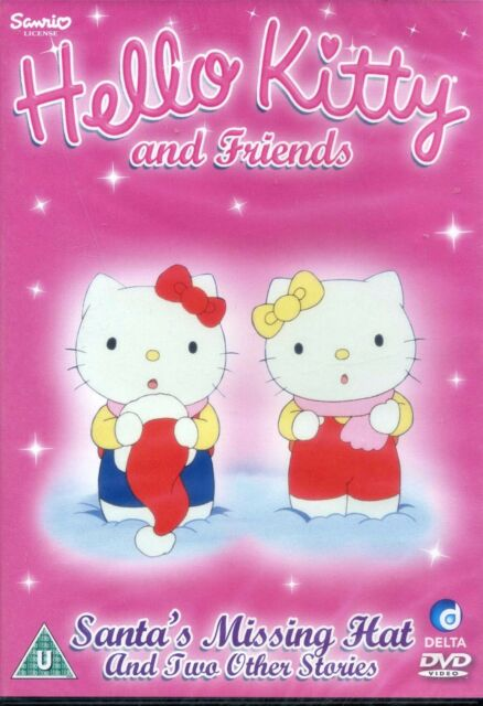 c270bd8c87ce7 Hello Kitty and Friends Santa s Missing Hat and two other stories New  Sealed DVD