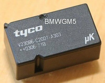 Tyco V23086-C2001-A303 relais utilisé dans BMW GM3 modules et autres