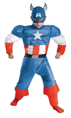 Captain America Inflatable Costume Child Size 4-6