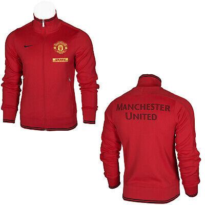 Nike N98 FC Manchester United Official Men's Full Zip Track Top Jacket DHL S | eBay