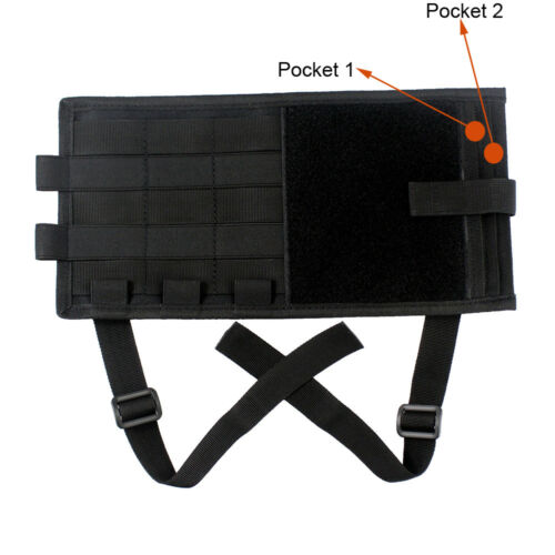 Tactical Molle Sun Visor Pouch Car Organizer Panel Cover Portable Storage Bag