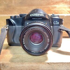 Cosina-C1S-35mm-fotocamera-SLR-con-obiettivo-F-2-50mm-Retro-LOMO-Studente-Camera-funzionante