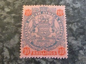BRITISH-SOUTH-AFRICA-Co-RHODESIA-POSTAGE-STAMP-SG50-10-LIGHTLY-MOUNTED-MINT