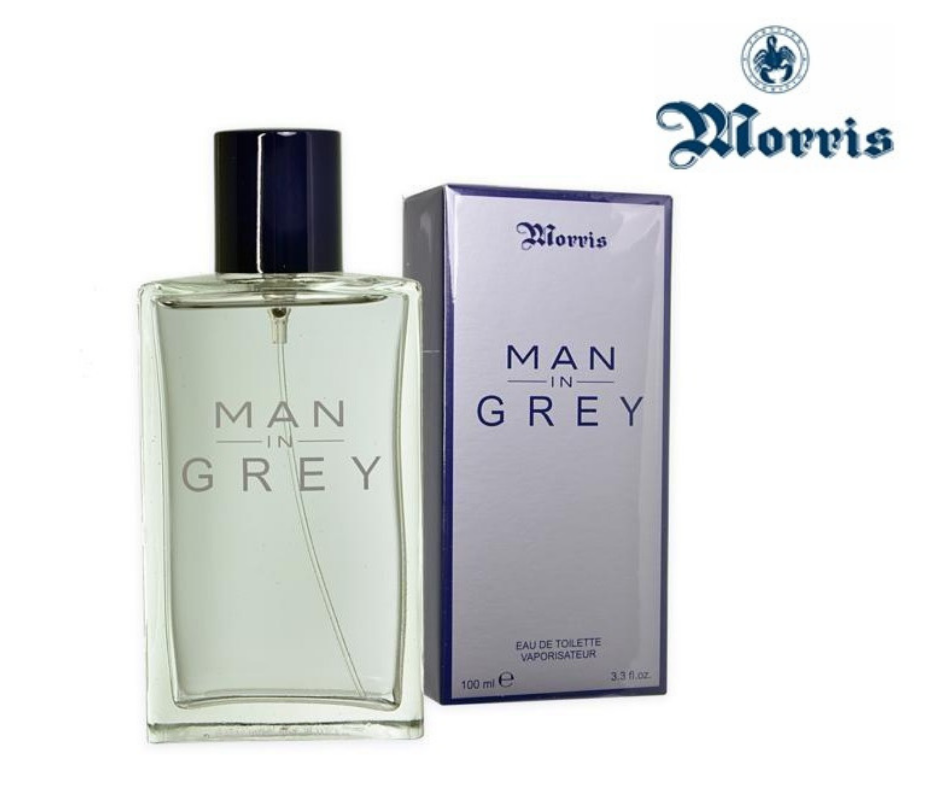 profumi: MORRIS MAN IN GREY PROFUMO EDT 100 ML UOMO