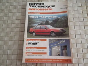 REVUE-TECHNIQUE-CARROSSERIE-VOLVO-440-460