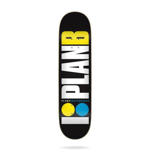 "Plan B Skateboard Deck Team OG Neon 8.0/"" x 31.75/"""