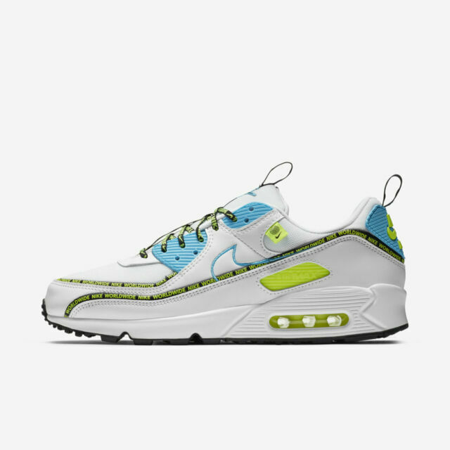 Size 8.5 - Nike Air Max 90 SE Worldwide Pack - Blue Fury Volt 2020 ...