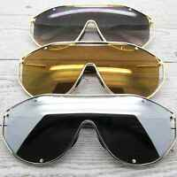 Oversized Women Sunglasses Designer Inspired Frames Mirrored And Gradient Lens