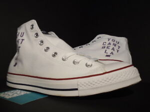623f56a24069 CONVERSE ALL STAR HI CHUCK TAYLOR CT UNDEFEATED UNDFTD LAKERS WHITE ...