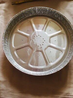 10 In Alluminio A Torta Quiche Flan Lamine- Luminoso A Colori