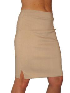 NEW-2356-Smart-Stretch-Pencil-Skirt-Beige-6-18