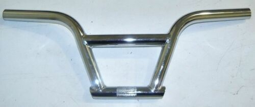 "SILVER /""PIT BIKE/"" JUNIOR BMX BICYCLE HANDLEBAR PARTS 18"