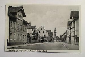 AK-Auerbach-Oberpfalz-Adolf-Hitler-Strasse-Schreiner-Engelhardt-um-1935