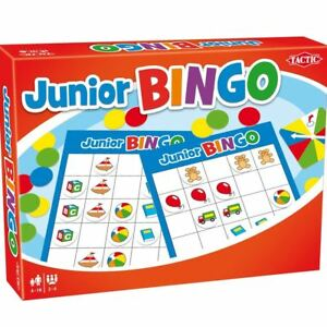Tactic Junior Bingo Colourful Pictures Childrens Classic Board Game
