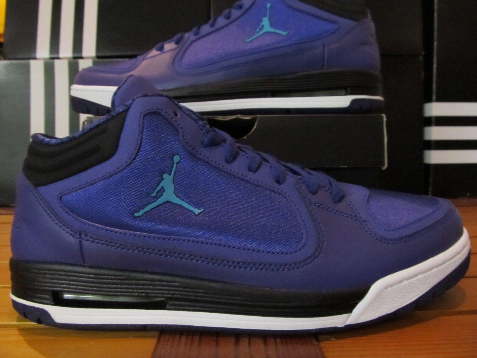 DS Nike Air Jordan Post Game Grape Ice Emerald Blk 10.5 552665 593 retro aqua 8