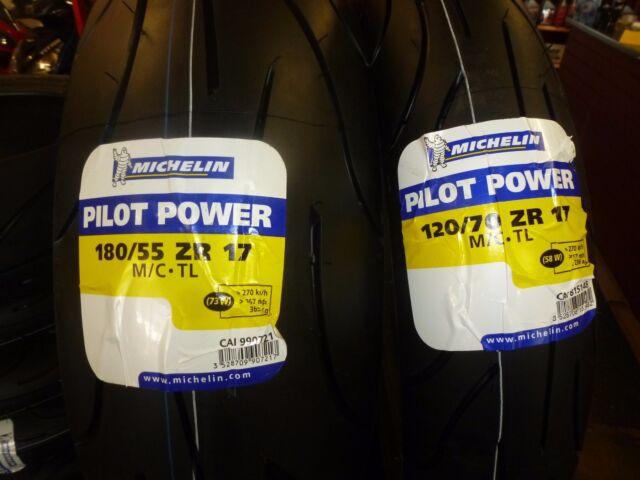 DUCATI MONSTER MICHELIN 120/70/17-180/55/17 PILOT POWER