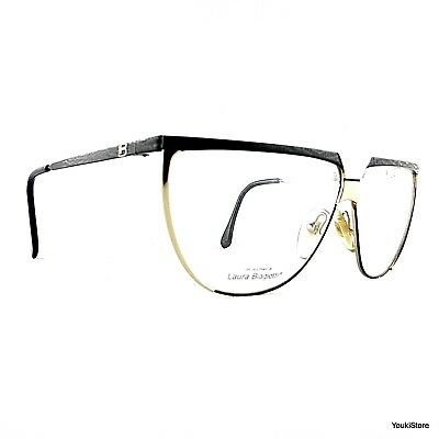 2019 Moda Laura Biagiotti Occhiali Da Vista V89 62e 135 63 8 Vintage Rare Eyeglasses New! Vendite Di Garanzia Della Qualità