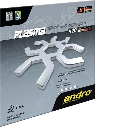 Andro PLASMA 470 TENNIS DE table-revêtement surface de tennis de table