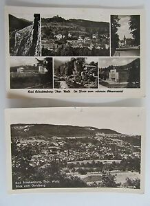 2x-BAD-BLANKENBURG-Thueringen-DDR-Postkarten-Ansichtskarten-Lot-frankiert
