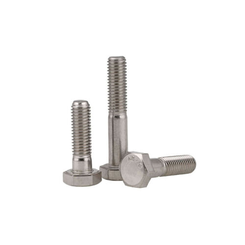 Half Thread Hex Head Screws M6 M8 M10 M12 All Sizes A2 Stainless Steel Hex Bolts