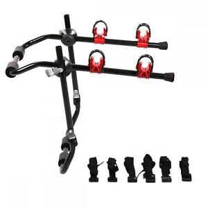 Bike-Rack-2-Bicycle-Hitch-Mount-Carrier-Car-Truck-Auto-2-Bikes-New-SUV-Rack-BC02