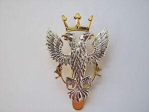 Brass Base Metal Army Air Corps Beret Cap Badge   British Military