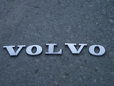 "OEM ""Volvo"" Rear Trunk letters Emblem chrome badge decal namplate .8125"" tall"