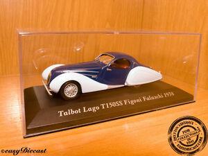 Talbot-Lago-T150SS-Figoni-Falaschi-1938-1-43-MINT