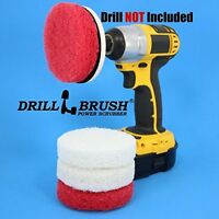 Power Scrubber Scumbusting Scrub Pad Bathroom Cleaning Kit on sale