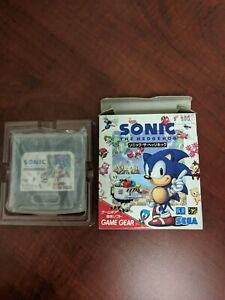 Sonic The Hedgehog 1 Game Gear Sega Japan Gg Ebay