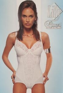 Body Compression Modeling With Lace 8300 Shaper Woman Lilly