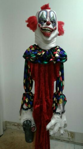 Evil Clown Halloween Costume with Accesories