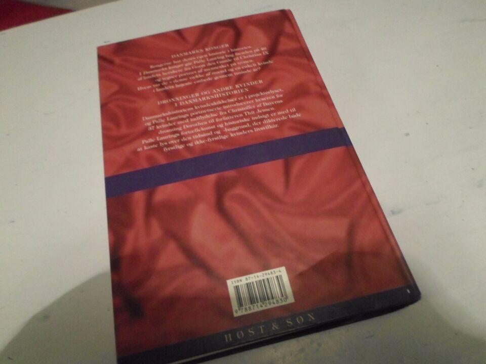 Danske konger og dronninger 1. udgave, Palle Lauring,