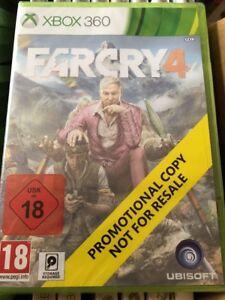 XBOX-360-Far-Cry-4-Promo-Game-Full-Promotional-Game-Ubisoft-Sealed-PAL