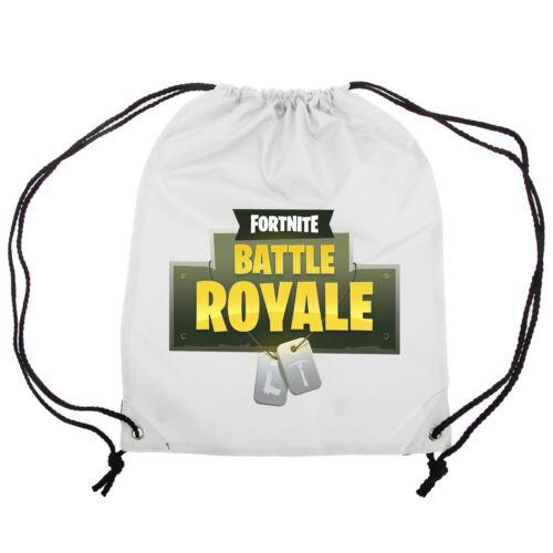 fortnite Battle Royale Drawstring Bag For P.E