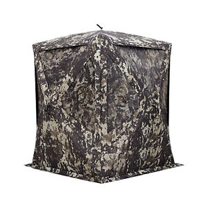 Barronett Big Mike Portable 2 Person Camouflage Pop Up Hunting Ground Blind