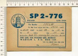 S645) Poland Warsaw Radio Amateur Station SP2-776 - 29.4.1953