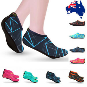 Unisex-Water-Shoes-Slip-On-Aqua-Socks-Swim-Surf-Diving-Yoga-Exercise-Reef-Shoes