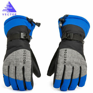 Pro-Men-039-s-Winter-Cycling-Hiking-Windproof-Warm-Outdoor-Sport-Snow-Ski-Gloves