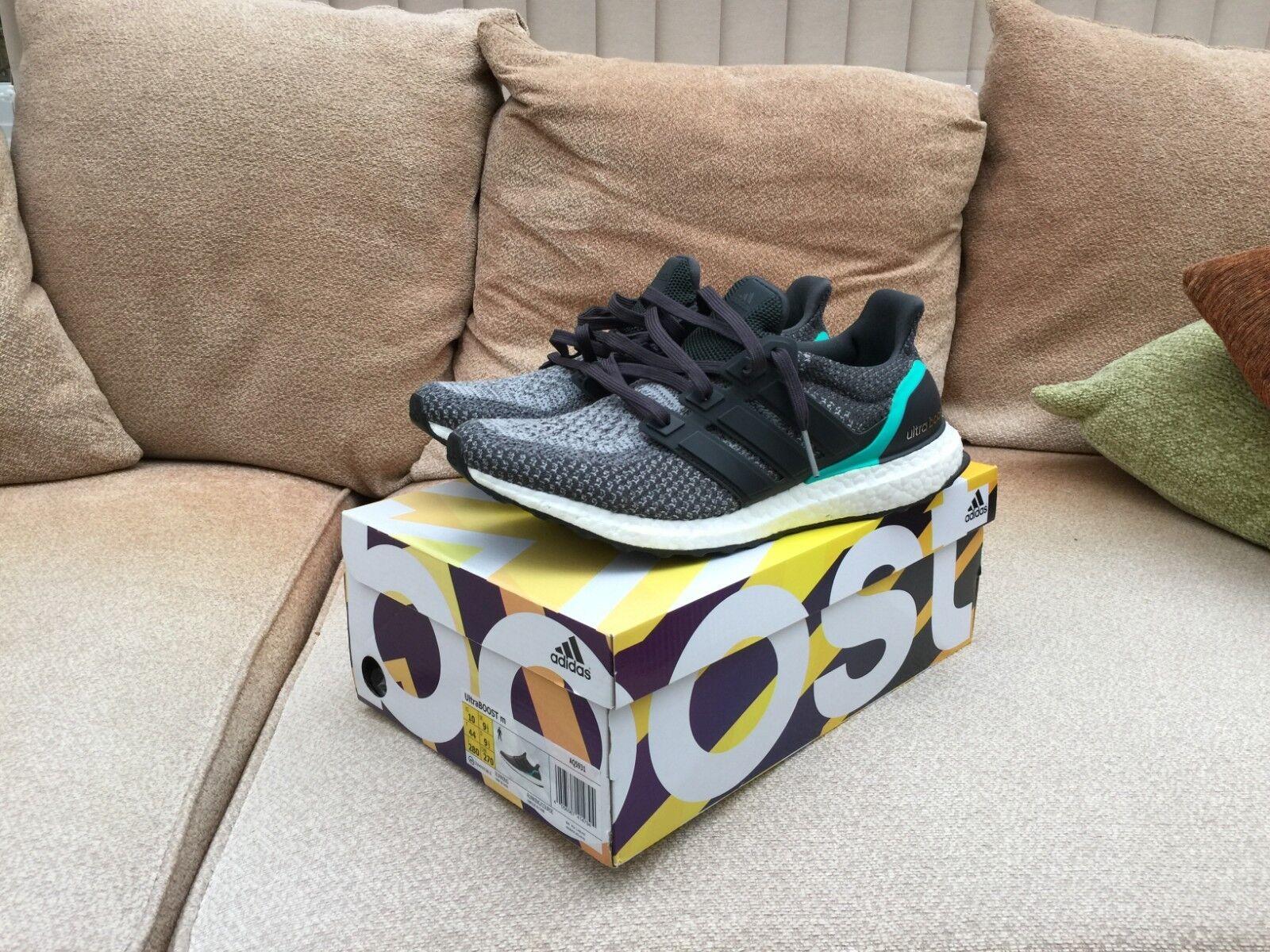 Adidas Ultra boost 2.0 grau Mint UK 9.5 US 10