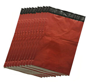 Coloured-Red-Mailing-Bags-Postal-sacks-Plastic-Envelopes-Self-Seal-Post-Bags