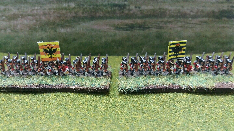 disfrutando de sus compras 6mm Guerra Guerra Guerra De España sucesión Infantería Booster Pack  excelentes precios