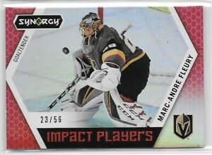 2017-18-Upper-Deck-Synergy-Marc-Andre-Fleury-Impact-Players-Red-SP-56-BN