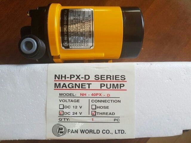 1 unit NH-40PX-D PAN WORLD magnet pump 24V DC NOS