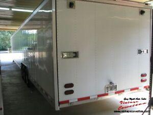 2007 Gold Rush Enclosed All Aluminum   53 Trailer , 3 Car Trailer  one owner