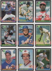 1985-Donruss-Leaf-Baseball-Team-Sets-Pick-Your-Team